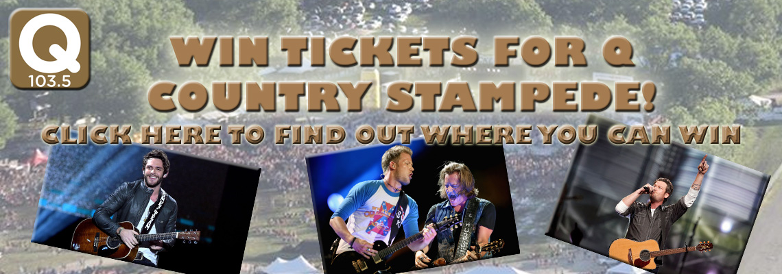 Win Country Stampede Tickets