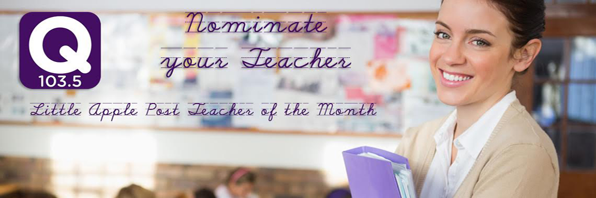 QCountry 103.5 Teacher Of The Month!