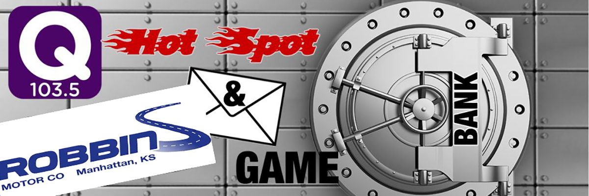 The QCountry 1035 Hot Spot Cash and Envelope Game! Presented by Robbins Motor Company!